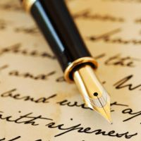Whispering to writing
